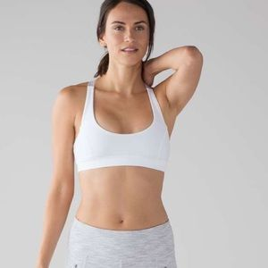 🌟WORN ONCE🌟 Lululemon light N breezy Sports Bra